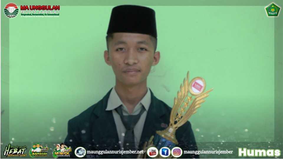 Einsten-nya MA Unggulan Nuris, Juara 3 KSMO dan Siap Wakili Jember ke Tingkat Provinsi