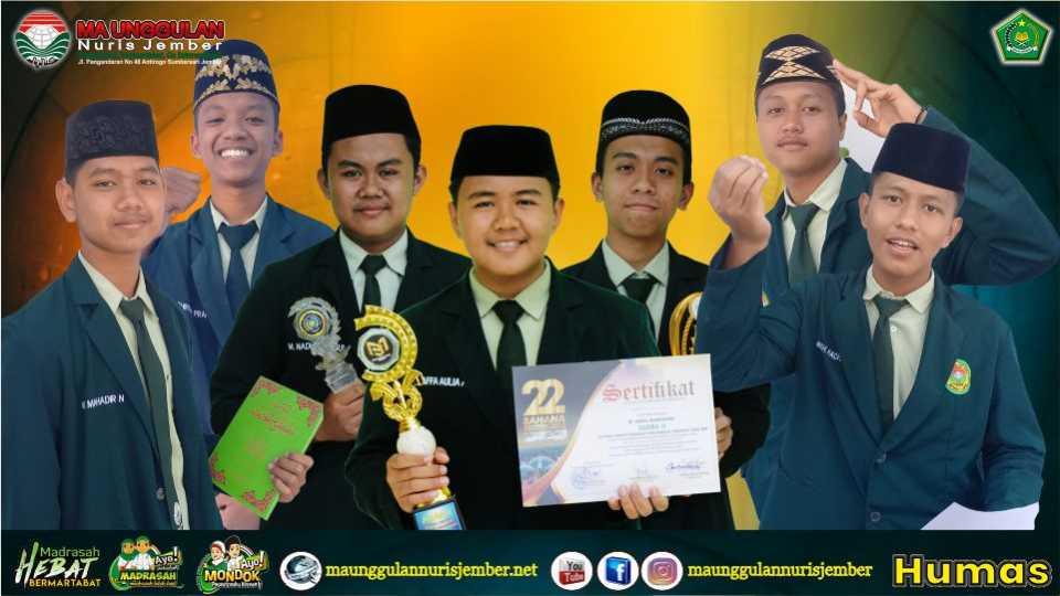 Rekapitulasi Juara MA Unggulan Nuris Bulan Juli dan Agustus 2021