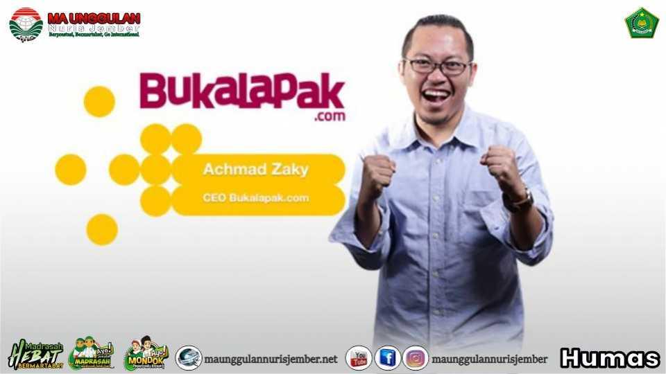 Achmad Zaky: Pendiri Bukalapak yang Sukses Berkarier di Usia Muda