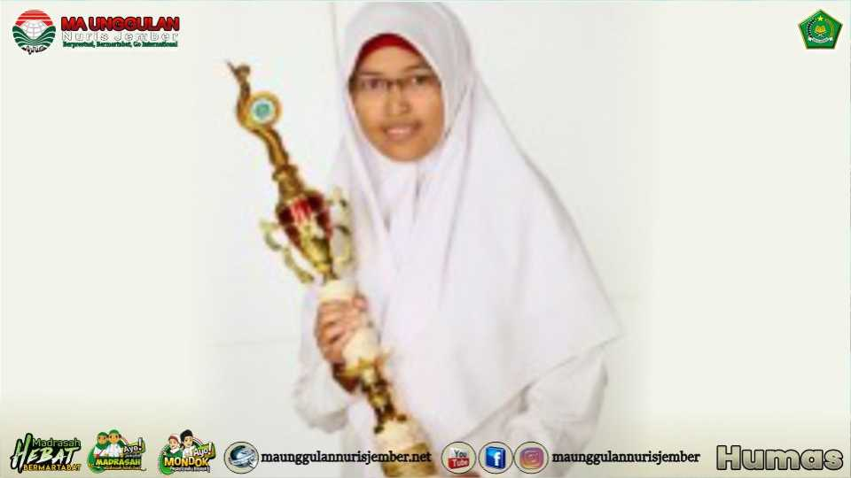 Juara Kaligrafi Tingkat Provinsi