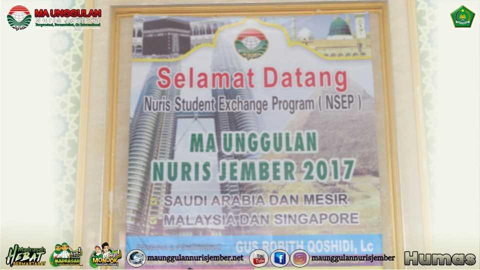 Agen Islam Rahmatan Lil Alamin Nuris Telah Tiba dari Arab Saudi, Mesir, dan Malaysia