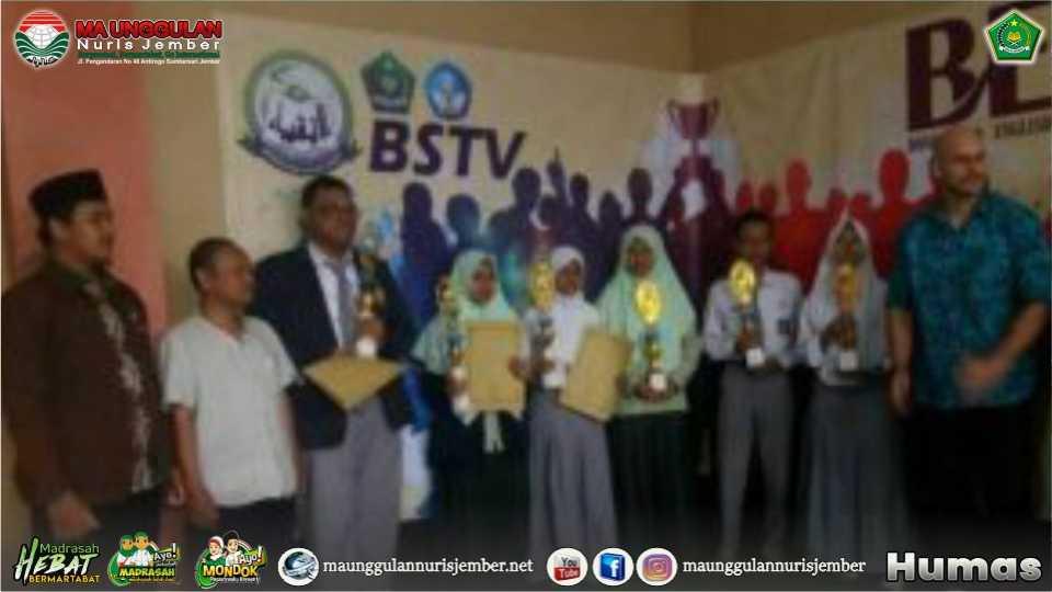 Libas Sekolah Favorit, Nuris Borong Juara Olimpiade Bahasa Inggris Se-Eks Keresidenan Besuki di Bondowoso